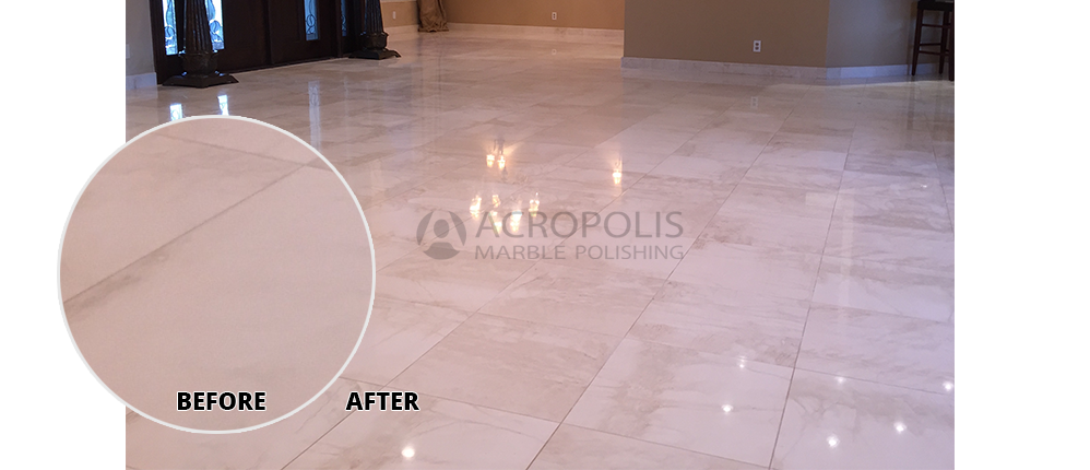 Acropolis Marble Polishing Miami Florida