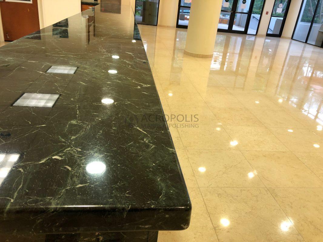 36 Marble Countertop Amp Limestone Floor Restoration