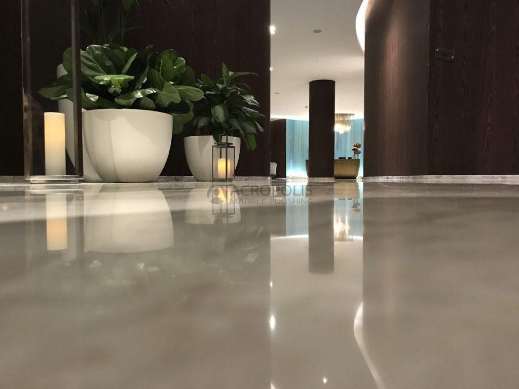 Marble restoration, Portfolio - Acropolis Marble Polishing Miami