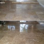 10 Travertine before - after