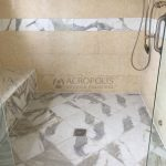 11 Marble shower wall mat finish