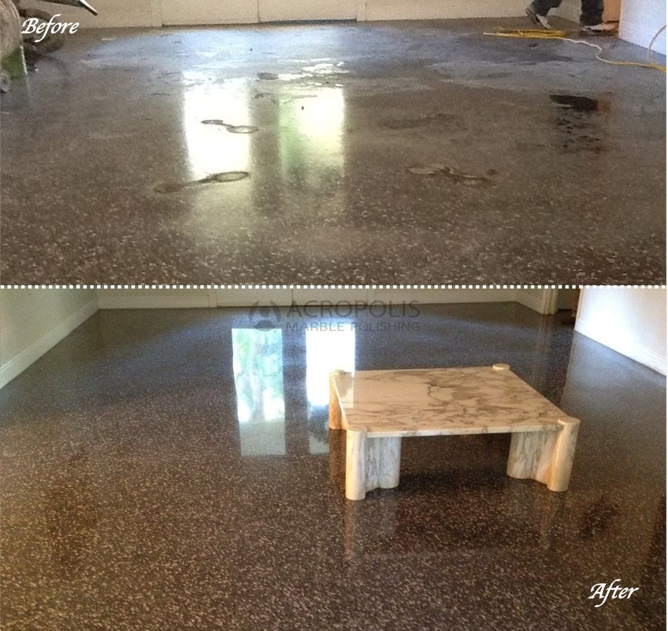 12 Terrazzo Amp Marble Table Before After Acropolis Marble