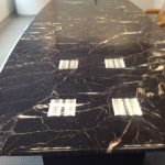 5 Marble conference table