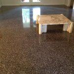 6 Terrazzo restoration & marble table