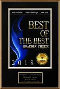 Best of the Best for 2018 at Marble Polishing in Miami Florida